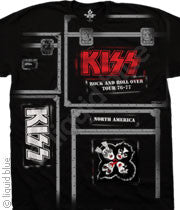 KISS Crew Black T-Shirt