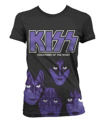 KISS Creatures Of The Night Womens T-Shirt