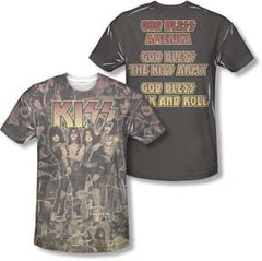 KISS God Blessmens Sublimated T-Shirt