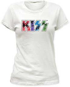 KISS Kawaii Logo Juniors T-Shirt
