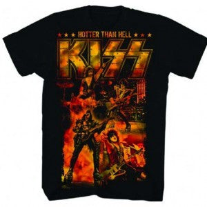 KISS Hotter Than Hell T-Shirt