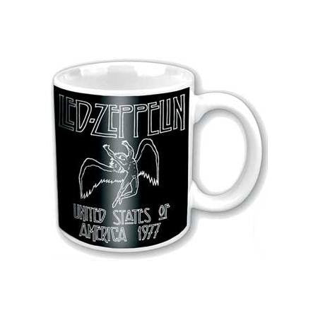 Led Zeppelin 77 USA Tour Box Mug