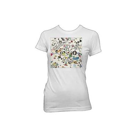 Led Zeppelin III Juniors Tissue T-Shirt