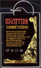 Led Zeppelin Stairway To Heaven Keychain
