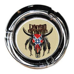 Lynyrd Skynyrd Cow Skull Glass Ashtray