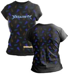 Megadeth G3 Fly Juniors Tissue T-Shirt