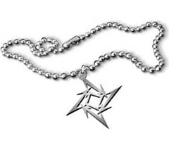 Metallica Ninja Star Necklace