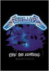 Metallica Ride the Lightning Textile Poster