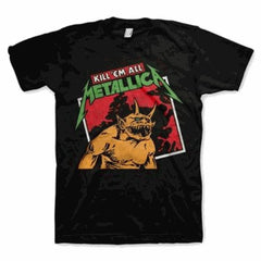 Metallica Kill Em All Tilted T-Shirt