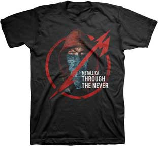 Metallica Through The Never Mens T-Shirt