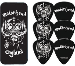 Motorhead England Logo Guitar Picks Tin