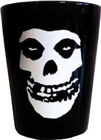 Misfits Skull Shot Glass