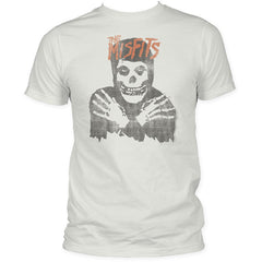 Misfits Crimson Ghost Distressed Print T-Shirt
