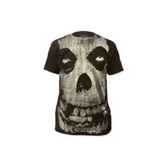 Misfits Allover Skull Mens Subway T-Shirt