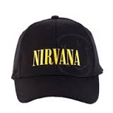 Nirvana Embossed Logo Name Cap