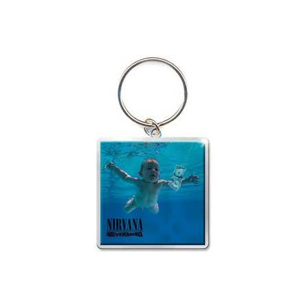 Nirvana Nevermind Photo Print Keychain