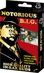 Notorious BIG Earbuds
