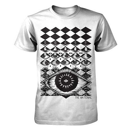The National Eyeball Mens Lightweight T-Shirt
