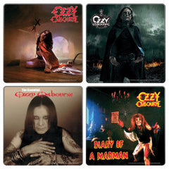 Ozzy Osbourne Wood Coaster Set