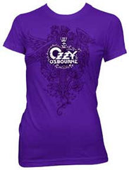 Ozzy Osbourne Celtic Logo Juniors Tissue T-Shirt