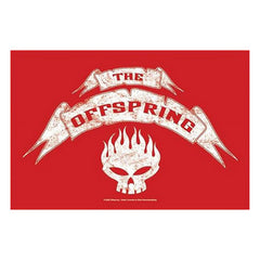 The Offspring Banner Fabric Poster