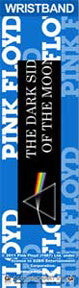 Pink Floyd Dark Side of the Moon Rubber Wristband