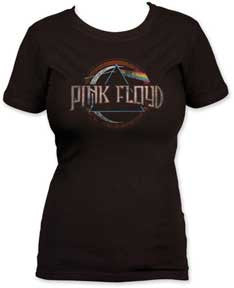 Pink Floyd Dark Side of the Moon Juniors T-Shirt
