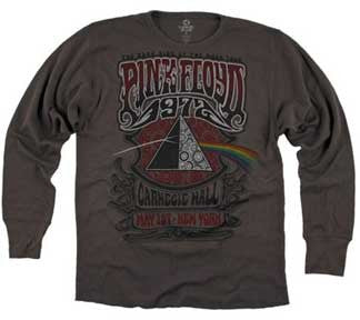 Pink Floyd Carnegie Hall Thermal Long Sleeve T-Shirt
