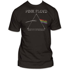 Pink Floyd Dark Side Of The Moon Distressed Fitted T-Shirt