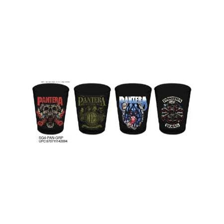 Pantera 4pk Shot Glass