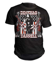 Pantera Dimebag Darrell Guitars Flag T-Shirt