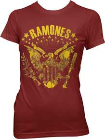 The Ramones Eagle Vintage Juniors T-Shirt