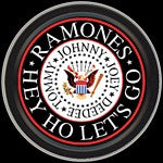 The Ramones Eagle Logo Round Tin