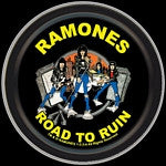 The Ramones Road To Ruin Round Tin