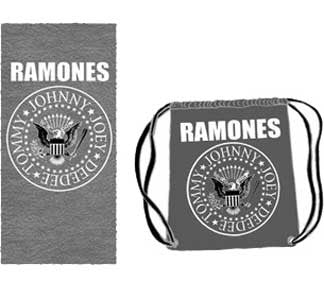 The Ramones Seal Beach Towel and Bag