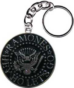 The Ramones Seal Round Keychain