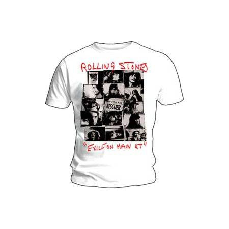 Rolling Stones Rescuer Collage Mens T-Shirt