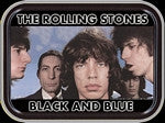 Rolling Stones Black and Blue Small Tin
