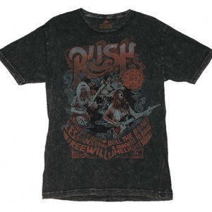 Rush Rock and Roll Hall of Fame Inductees T-Shirt