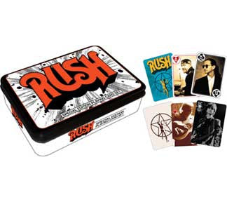 Rush Playing Card Tin