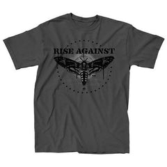 Rise Against Moth Man Mens Slim T-Shirt