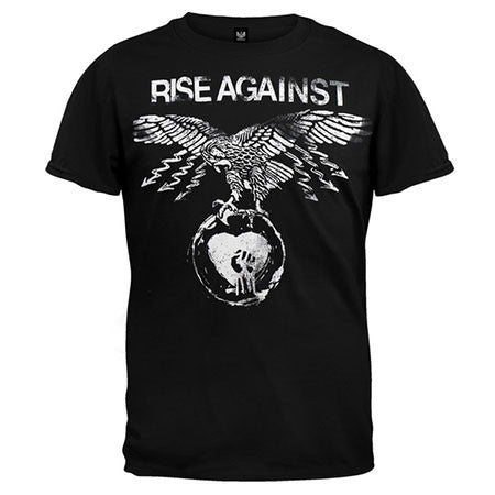 Rise Against Patriot Mens T-Shirt