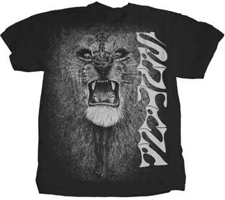 Santana White Lion T-Shirt