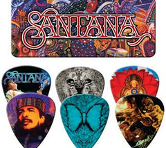 Santana Supernatural Guitar Picks Tin