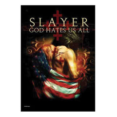 Slayer God Hates us All Fabric Poster
