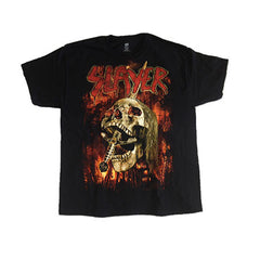 Slayer Burning City Mens T-Shirt