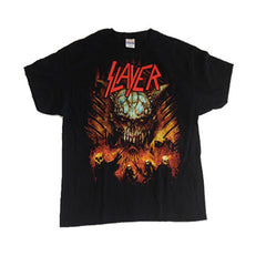 Slayer Soldiers on Fire Mens T-Shirt