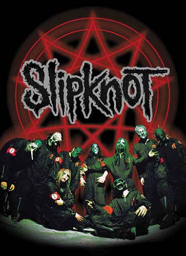 Slipknot Pentagram Fabric Poster