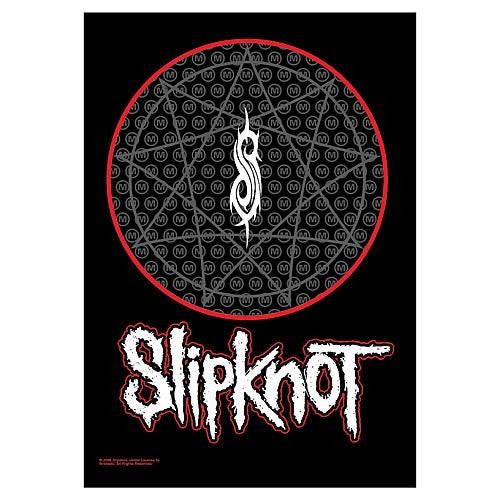 Slipknot Mouths Fabric Poster