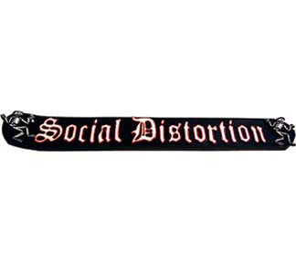 Social Distortion Logo Incense Burner